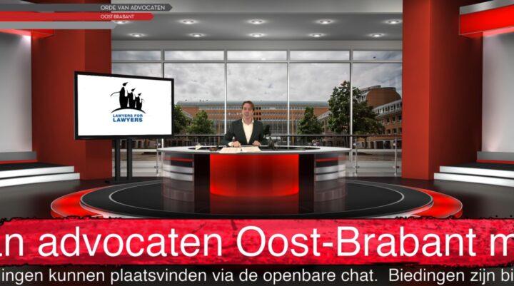 Fantastische opbrengst veiling Balie Oost-Brabant!