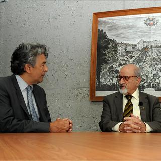 Syria Haitham al-Maleh visits International Criminal Court